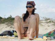 Porno Voyeur e Donne Nude in Spiaggia
