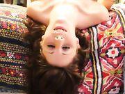 Sesso orale in senso inverso e un enorme eiaculazione sul viso