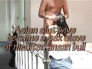 Una moglie asiatica incontra amico per il sesso